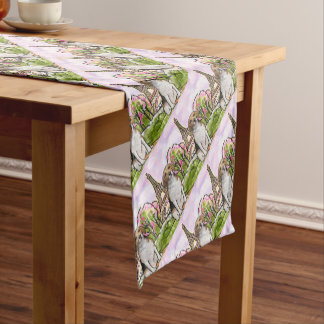 beagle eiffel tower paris short table runner