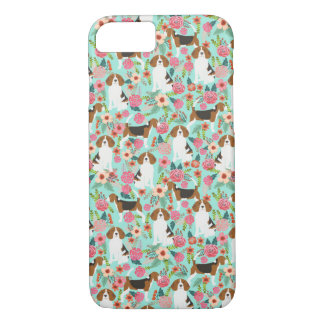 Beagle Floral iphone case