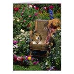 Beagle Garden Card