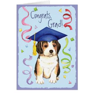 Beagle Graduate Card