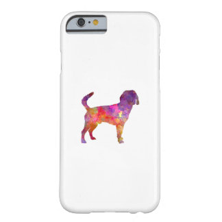 Beagle Harrier in watercolor Barely There iPhone 6 Case