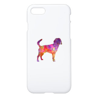 Beagle Harrier in watercolor iPhone 8/7 Case
