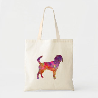 Beagle Harrier in watercolor Tote Bag