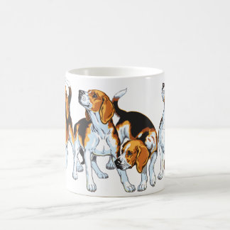 beagle hound coffee mug