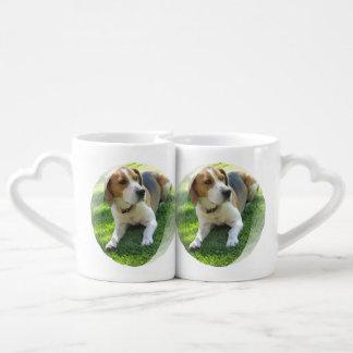 Beagle Hound Dog Couples Mug