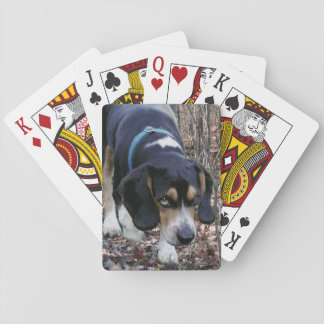 Beagle Hunting Dog Poker Cards