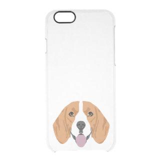 Beagle iphone clear case