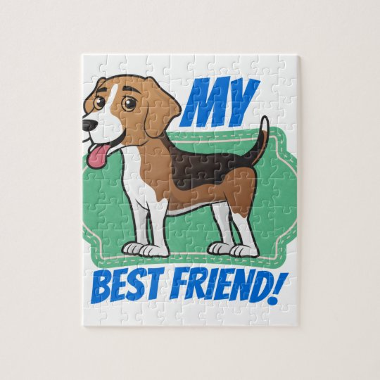 Beagle is my Best Friend Jigsaw Puzzle