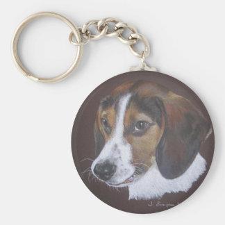 Beagle Key Ring