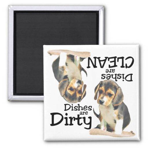 Beagle Lovers Dishwasher Magnet