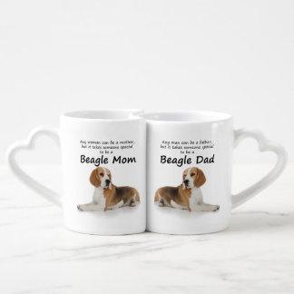 Beagle Lovers Mom and Dad Mugs