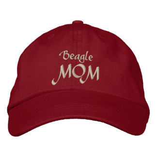 Beagle MOM Gifts Embroidered Hat