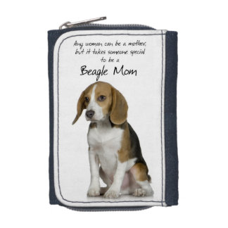 Beagle Mom Wallet