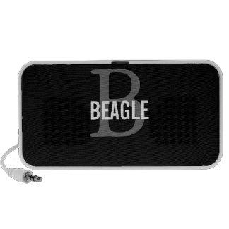 Beagle Monogram Portable Speaker