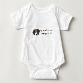 beagle - more breeds baby bodysuit