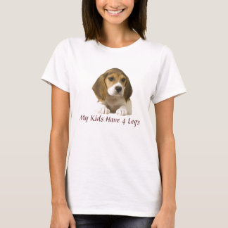 Beagle My Kids Have 4 Legs T-Shirt