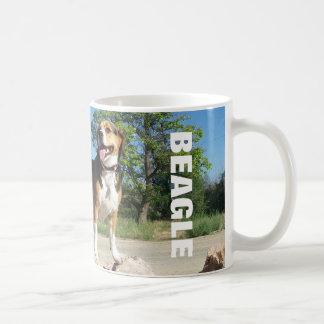 Beagle On The Rocks - Cooper Beagle Coffee Mug