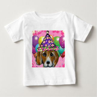 Beagle Party Dog Baby T-Shirt