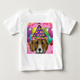 Beagle Party Dog Baby T-Shirt