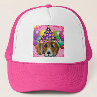 Beagle Party Dog Trucker Hat