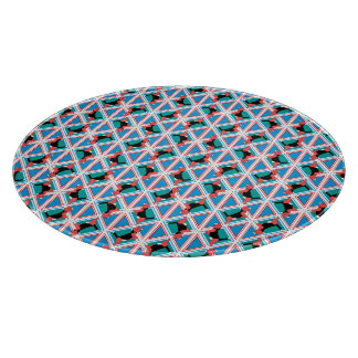 Beagle Pattern Quattrodog Cutting Board