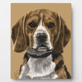 Beagle Plaque