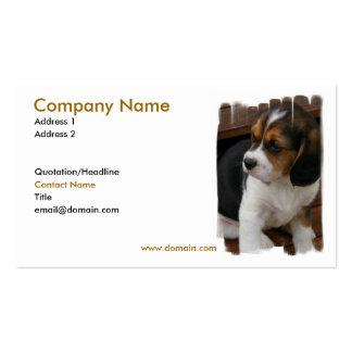 Beagle Pup Business Card