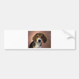 Beagle Puppy Dog Bumper Sticker