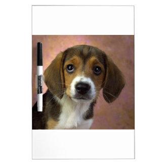 Beagle Puppy Dog Dry Erase Board