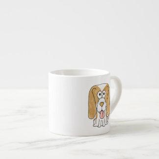 Beagle Puppy Dog. Espresso Cup