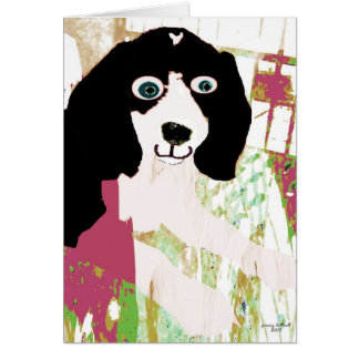 Beagle Puppy Products Card
