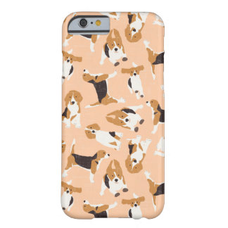 beagle scatter peach barely there iPhone 6 case