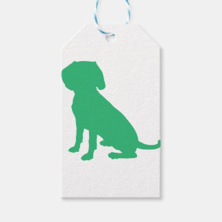 Beagle Silhouette Gift Tags