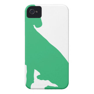 Beagle Silhouette iPhone 4 Cases