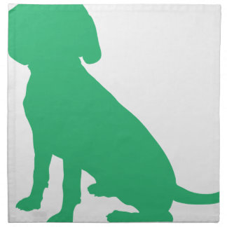 Beagle Silhouette Napkin