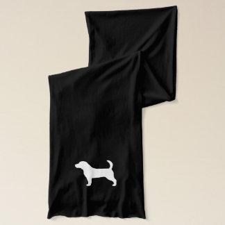Beagle Silhouette Scarf