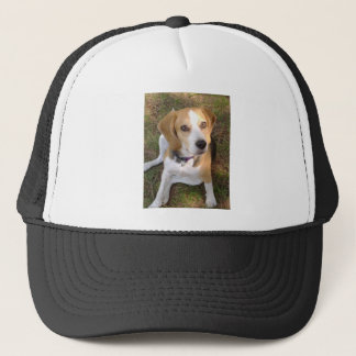 Beagle sitting 2.png trucker hat