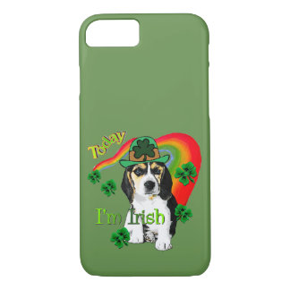 Beagle St Patrick's Day iPhone 8/7 Case