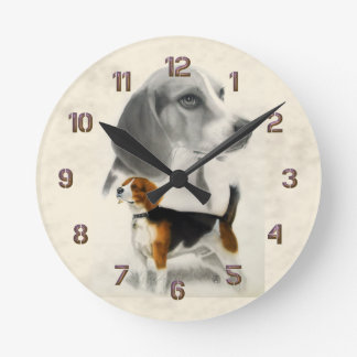 Beagle Wallclocks