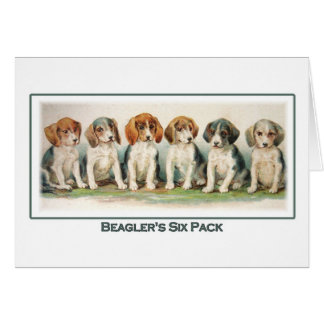 Beagler's Six Pack, Notecard
