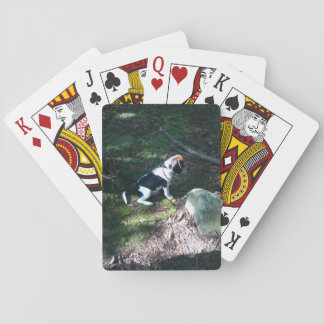 Beagle's first Squirrel Hunt Playing Cards
