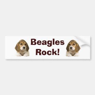 Beagles Rock Bumper Sticker