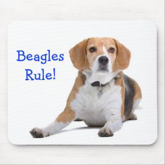 Beagles Rule  Mousepad