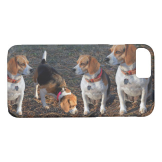 Beagles The More The Merrier Beagle iPhone 8/7 Case