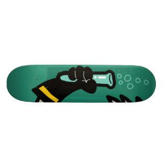 beaker 21.6 cm skateboard deck