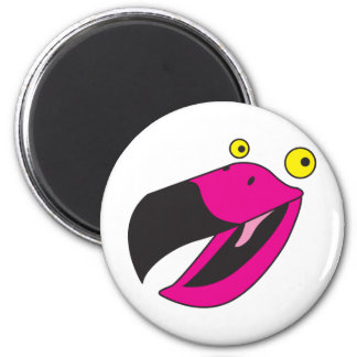 Beaker bird with funny face magnet