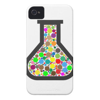 Beaker with Rainbow Chemicals Case-Mate iPhone 4 Case