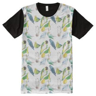 Beaky Birds Flock All-Over Print T-Shirt