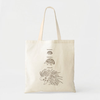 < Beam - zu (the alphabetical character - brown Tote Bag