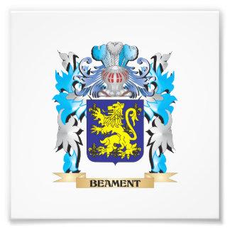 Beament Coat of Arms Photo Art